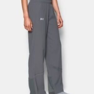 Under Armour pregame warm-up gray pants m
